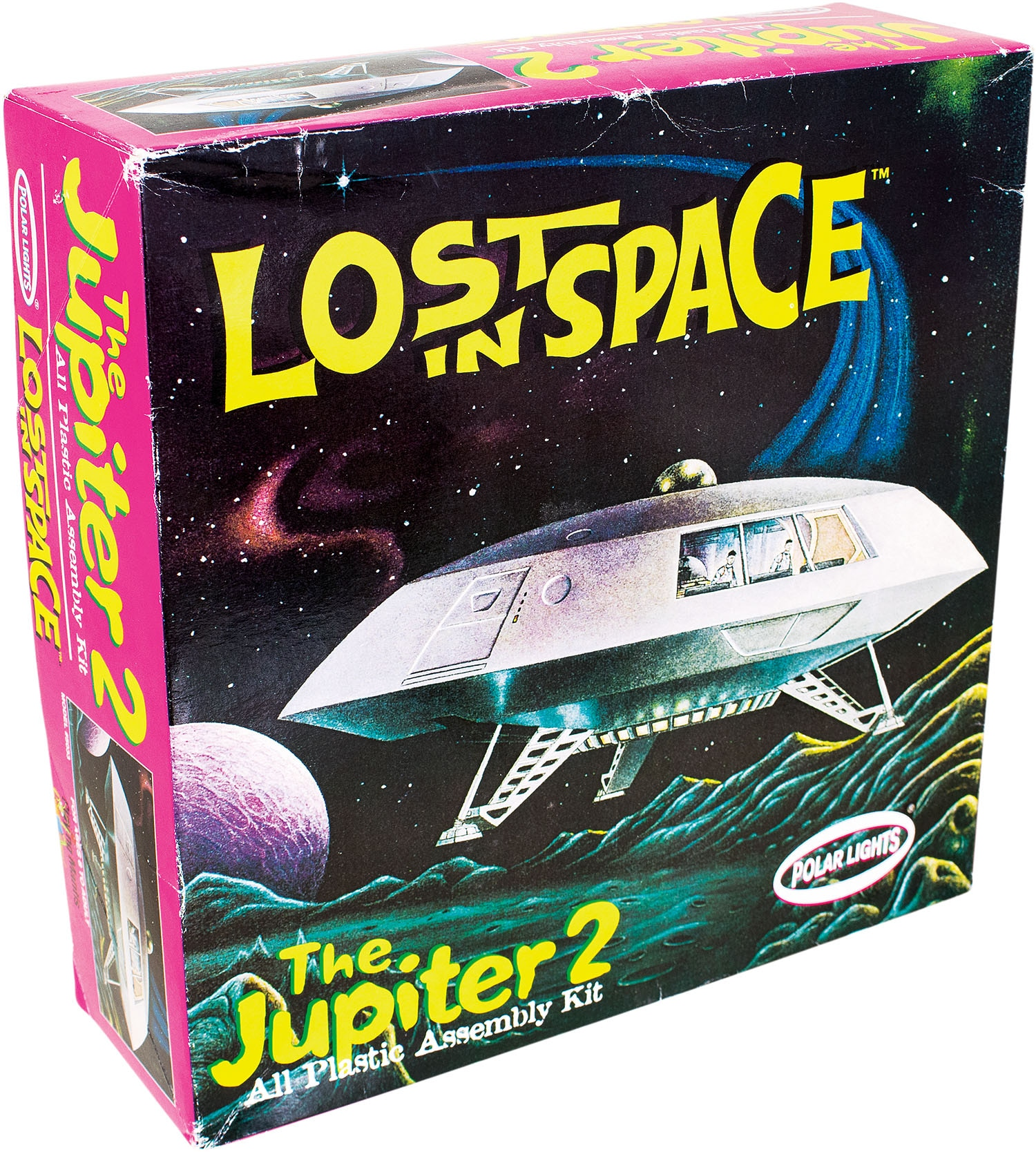 LOST IN SPACE The Jupiter2 All Plastic Assembly Kit
