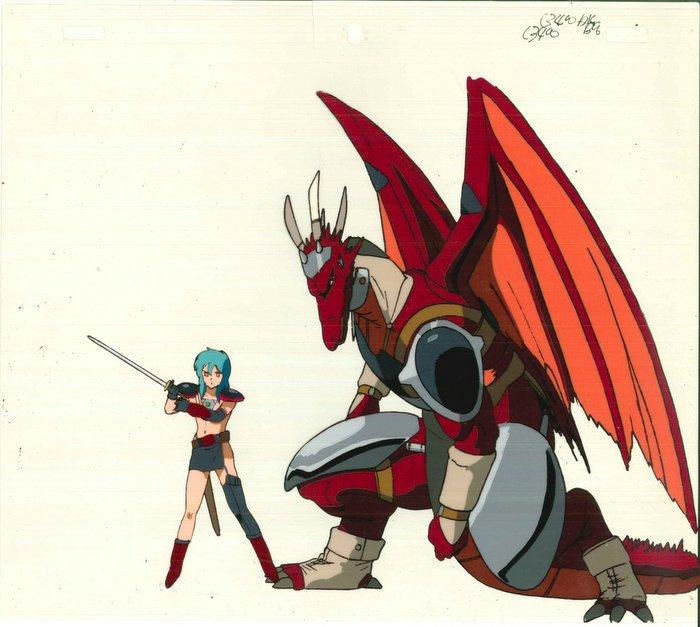 OVA竜世紀 ルリシア/カーマイン セル画[2枚セット]