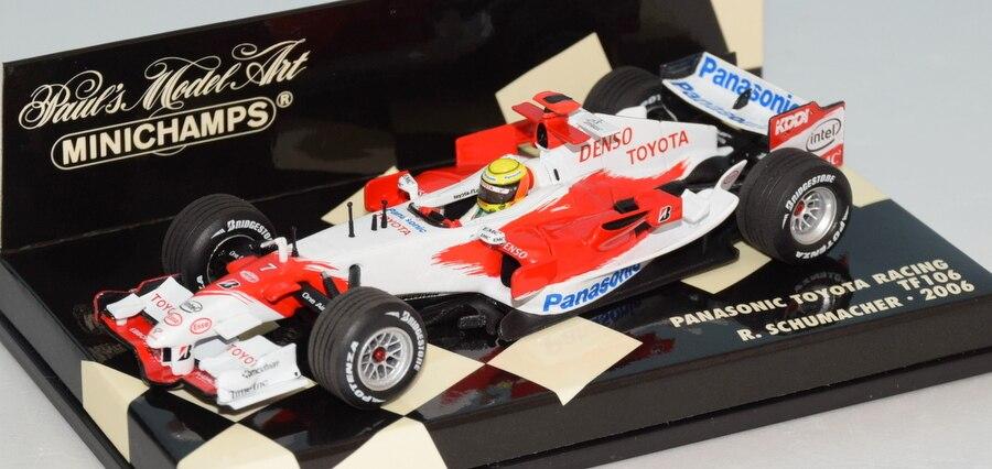 Toyota TF106 R Schumacher 2006 F1 Formula 1 1:18 Model MINICHAMPS
