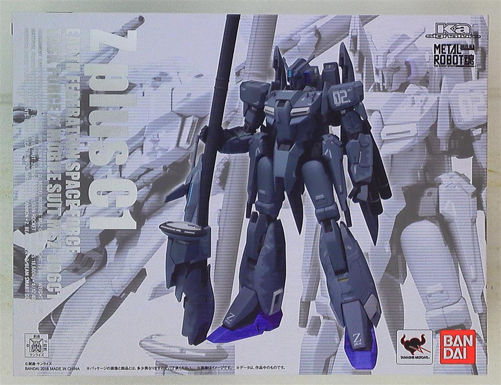 Bandai METAL ROBOT soul Zeta Plus C1