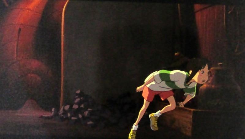 Manmayuto Orchestra Mitaka Ghibli Museum Film Bookmarks Spirited Away Studio Ghibli Chihiro Running To Lower The Waist Merchpunk
