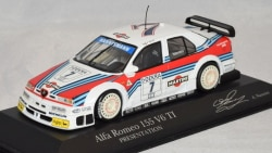 アルファロメオ155V6TI プレゼンテーション DTM1995 アレッサンドロ・ナニーニ #7