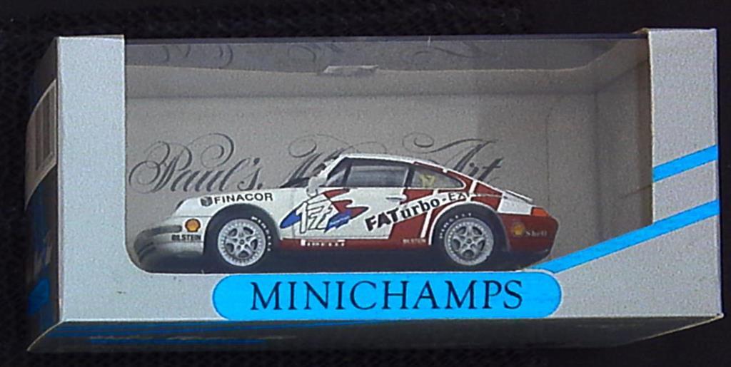 1:43 Spark Porsche reputación rt12 naranja 2005 sp New en Premium-modelcars