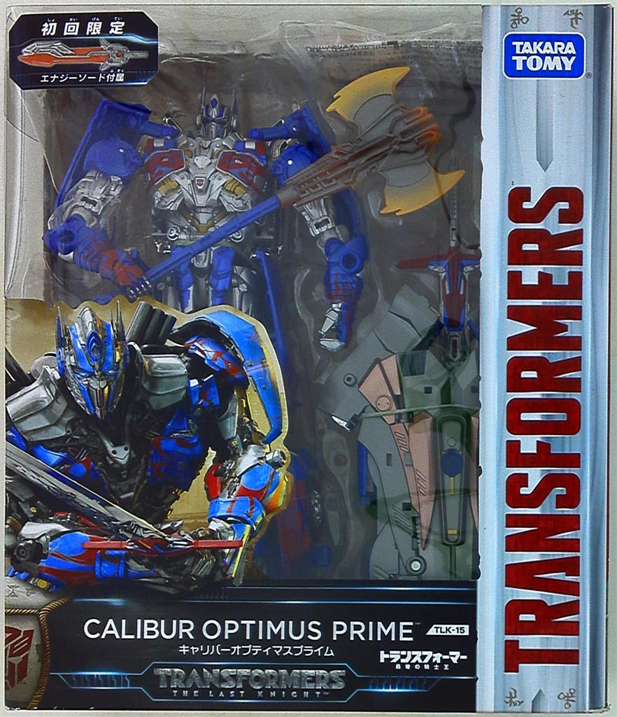 TAKARA TOMY Transformers TLK-15 Caliber Optimus Prime Action Figure Limited Edit