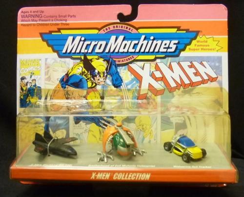 Micro Machines X-Men Collection