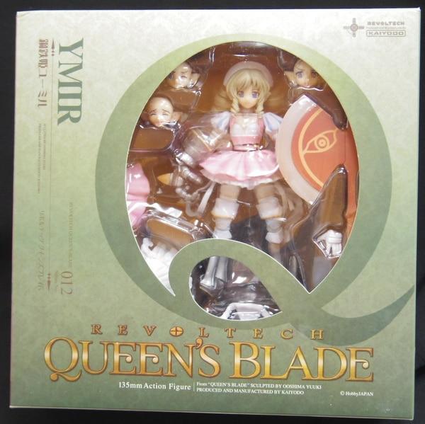 Blade 012 EX Ymir Figure 2P Color JP Queens />** Kaiyodo Revoltech Queen/'s
