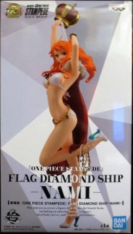 One Piece Stampede Flag Diamond Ship Figure Nami Figure Movie Bandai Spirits