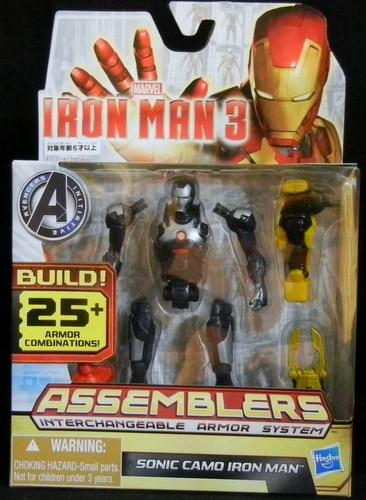 Iron Man 3 Sonic Camo Iron Man Assemblers