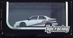 アルファロメオ 155V6 TI プレーンカラーモデル ホワイト