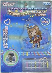 アクリルスタンドマスコット HAPPY PARTY TRAIN feat三月八日