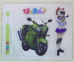 アクリルフィギュア 制服&バイクver.