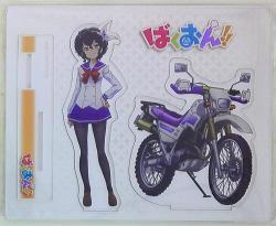 アクリルフィギュア 制服&バイク