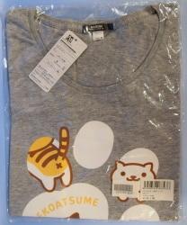 足跡Tシャツ